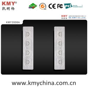 Stainless Steel Metal Side Keyboard (KMY3506A) pictures & photos