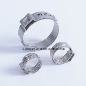 Stainless Steel Single Ear Hose Clip pictures & photos
