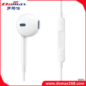 Cell Phone Accessories Noise-Cancelling TPE Earphone for iPhone pictures & photos
