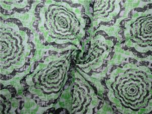 Ramie Cotton Printed Fabric (DSC-4168) pictures & photos