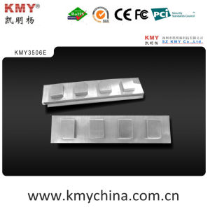 Standard ATM Metal Side Keypad (KMY3506E) pictures & photos