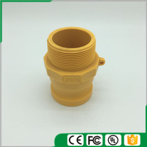 Plastic Camlock Couplings/Quick Couplings (Type-F) , Yellow Color