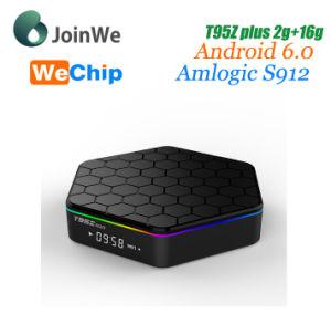 Amlogic S912 Octa Core Android 6 0 TV Box Wechip T95z Plus