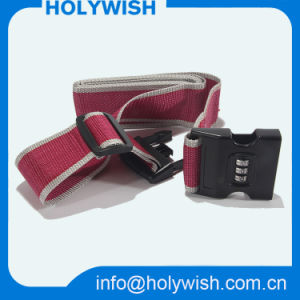 China Wholesale Polyester Woven Tsa Luggage Belt and Scale