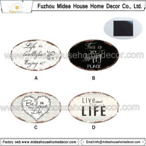 Cheap Price Custom Grade AAA Metal Printed Logo Fridge Magnets