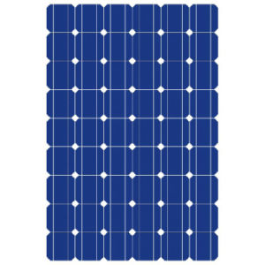 Solar Power 72 Cells Hc Solar Panel for Home Usage Made in China pictures & photos