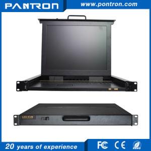 Over IP 8 port / 16port VGA 15 inch LED KVM switch