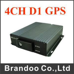 4CH GPS Mobile DVR with SD Card Recording
