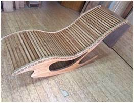 Solid Bamboo Lounge Leisure Beach Chair pictures & photos