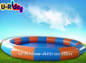 Hot Heavy Duty PVC Tarpaulin Inflatable Aqua Pool for Rental pictures & photos