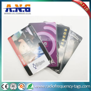 13.56MHz RFID Rewritable ISO Cr80 Blank PVC Cards with Printing pictures & photos