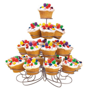 Metal Wedding Cake Stand 23 Cupcake - 4 Tier Cake Stand pictures & photos