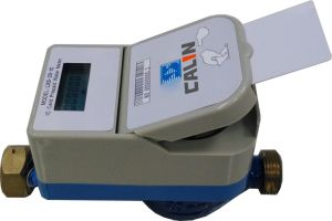 Digital Type Flow Prepayment Card Type Water Meter pictures & photos