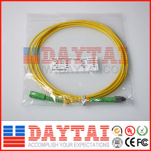 High Quality Sc/APC-FC/APC Optical Fiber Patch Cord pictures & photos