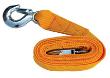 Tow Strap with Hooks