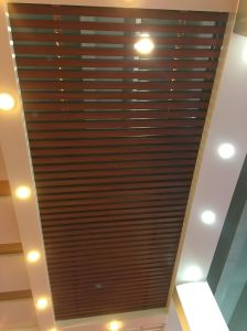 Metal Ceiling Aluminum Square Groove Panel Ceiling Baffle Ceiling Supsended Ceiling pictures & photos