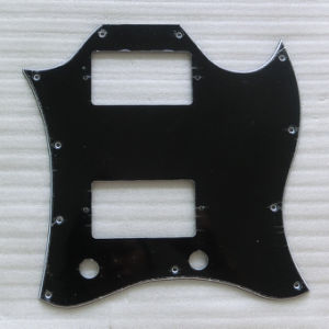 Wholesale Black 3ply Full Size Sg Guitar Pickguard pictures & photos
