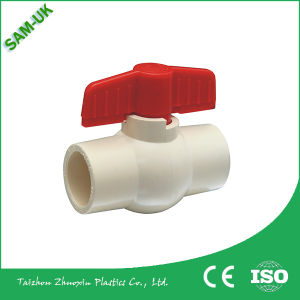 Hot Selling Plastic Handle Building Construction Material CPVC Ball Valve for Water Supply pictures & photos