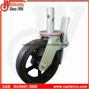 8 Inch Rubber Scaffold Caster with American Standard pictures & photos