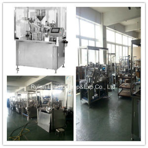 Automatic Plastic Syringe Filling and Plunging Machine pictures & photos