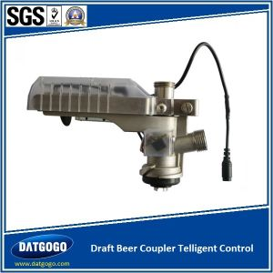 Draft Beer Keg Coupler with Telligent Control