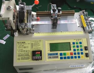 Automatic Care Label Cutting Machine Hot Knife with Sensor pictures & photos