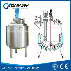 Pl Stainless Steel Jacket Emulsification Mixing Tank Oil Blending Machine Mixer Sugar Solution Liquid Mixer Machine