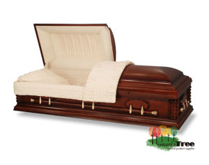 china solid wood casket funeral casket wood coffin china wood