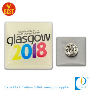 Supply High Quality Custom Cheap Printed Pin Badge From China pictures & photos