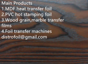 Hot Stamping Foil for Plastic pictures & photos