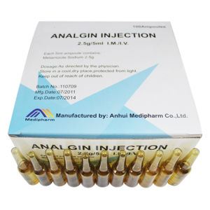 Analgin Injection GMP Medicine pictures & photos