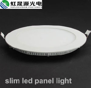 Energy Saving 18W Round LED Panel Light with Aluminum Frame pictures & photos