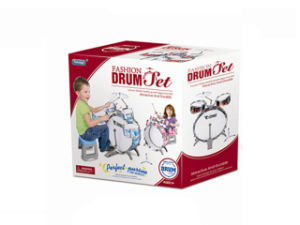 Jazz Drum with Chair Plastic Toys Drum Set (H9789001) pictures & photos