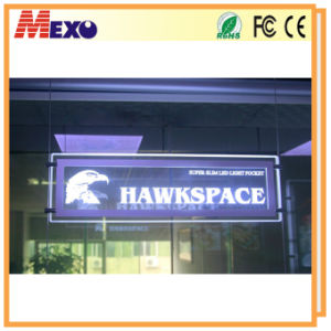 Wholesale Window Display Acrylic Sign Board LED Sign pictures & photos