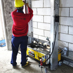 Wall Plastering Machine/Wall Rendering Machine pictures & photos