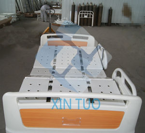 Hospital Equipment Electric Adjustable Hydraulic Weighing Bed pictures & photos