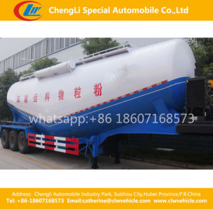 Tri-Axle 55cbm V-Type Bulk Concrete Cement Semi Trailer pictures & photos