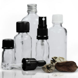 5ml 10ml 15ml 20ml 30ml 50ml 100ml Clear Glass Dropper Bottles