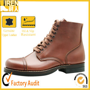 2017 Hot Sale Good Quality Genuine Military Ankle Boots pictures & photos