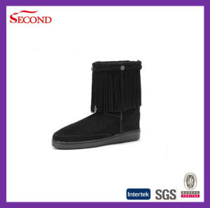 Women Boots with Tassels