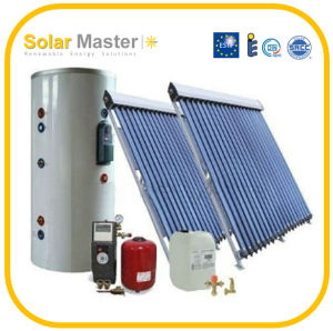 2016 New Glass Tubes Pressurized Solar Water Heaters System