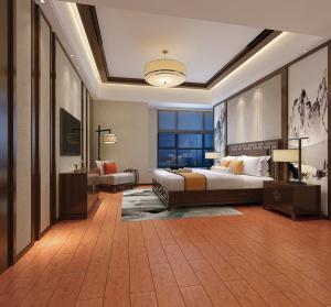 Wooden Like Rustic Porcelain Flooring Tile (AJP157206)