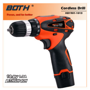 10.8V Compact Li-ion Cordless Drill (HD1902-1013) pictures & photos