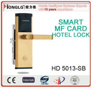 Top Security Keyless RF Card Door Lock (HD5013) pictures & photos