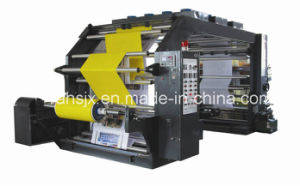 High Speed 4 Color Flexographic Printer Machine for Paper Print