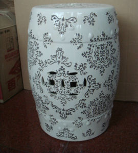 Antique Chinese Painted Porcelain Stool Ls-72 pictures & photos