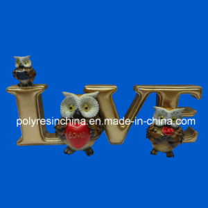 Customized 3D Owl with Words Decoration pictures & photos
