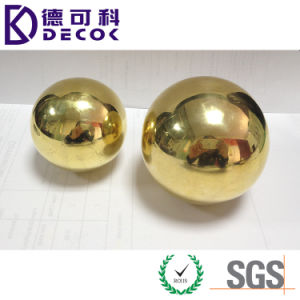 14mm 16mm 50mm 80mm 200mm 5 Inch Shiny Polished Decorative Ornament Hollow Brass Ball pictures & photos