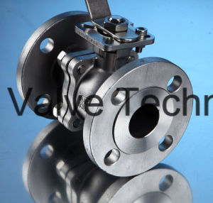 10k 2PC Flange Ball Valve with Mounting Pad pictures & photos