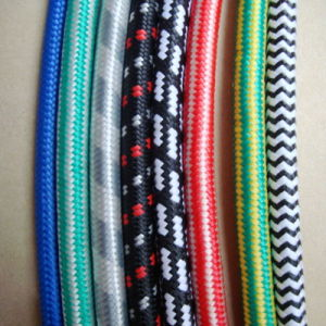 2 Core Snake Cloth Covered Braided Cable pictures & photos